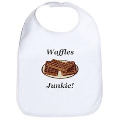Waffles Junkie Bib
