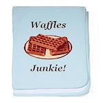 Waffles Junkie baby blanket