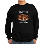 Waffles Junkie Sweatshirt (dark)