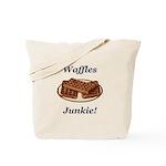 Waffles Junkie Tote Bag