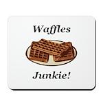 Waffles Junkie Mousepad