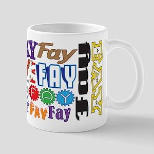Fay 11 Oz Ceramic Mug Mugs