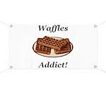 Waffles Addict Banner