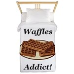 Waffles Addict Twin Duvet
