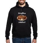 Waffles Addict Hoodie (dark)