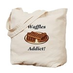 Waffles Addict Tote Bag