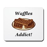 Waffles Addict Mousepad