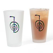 Reiki Power Symbol Drinking Glass