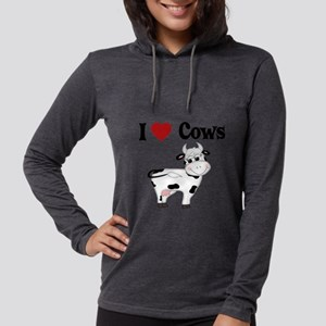 I Love Cows Long Sleeve T-Shirt