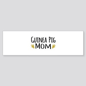 Guinea pig Mom Bumper Sticker