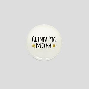 Guinea pig Mom Mini Button