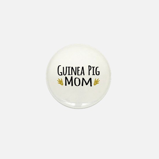 Guinea pig Mom Mini Button