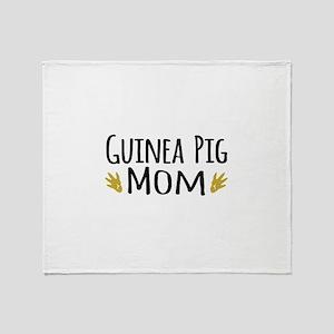 Guinea pig Mom Throw Blanket