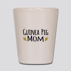 Guinea pig Mom Shot Glass