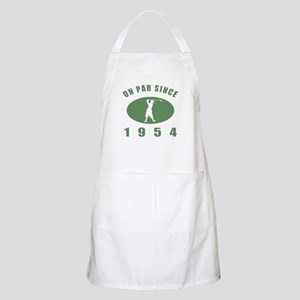 1954 Birthday Golf Apron