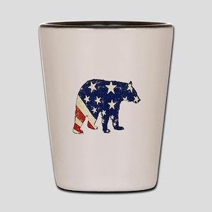 FREE BEAR Shot Glass
