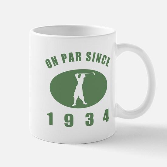 1934 Birthday Golf Mug