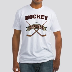 Hockey Defense Fitted T-Shirt