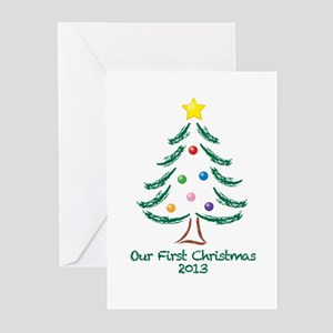 Our First Christmas 2013 Greeting Cards (Pk of 10)