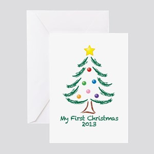 My First Christmas 2013 Greeting Cards (Pk of 10)