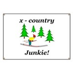 X Country Junkie Banner