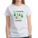 X Country Junkie Women's T-Shirt