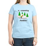 X Country Junkie Women's Light T-Shirt
