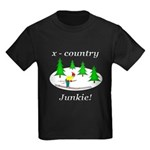 X Country Junkie Kids Dark T-Shirt