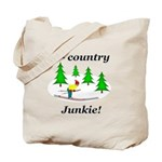X Country Junkie Tote Bag