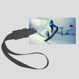 Snowboard extreme Large Luggage Tag