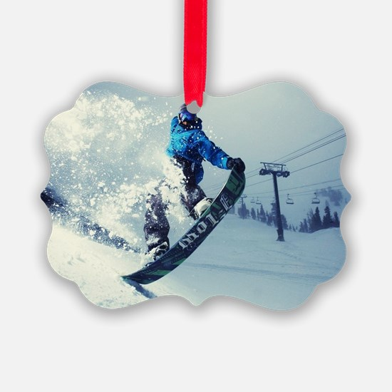 Snowboard extreme Ornament