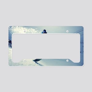 Snowboard extreme License Plate Holder