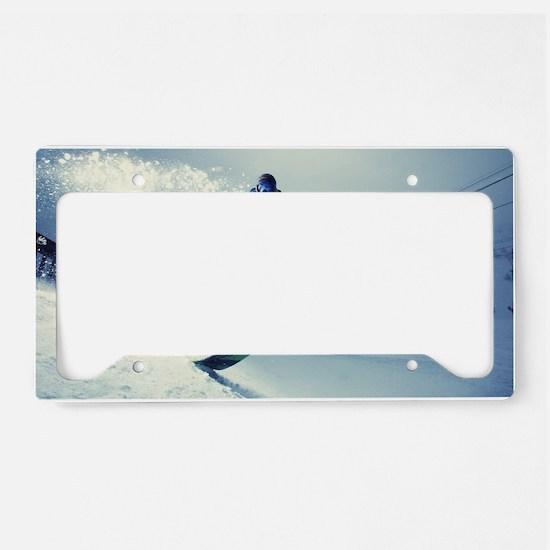 Snowboard extreme License Plate Holder