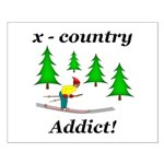 X Country Addict Small Poster