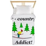 X Country Addict Twin Duvet
