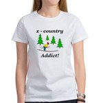 X Country Addict Women's T-Shirt