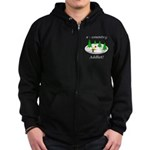 X Country Addict Zip Hoodie (dark)