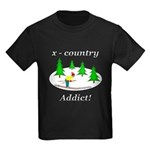 X Country Addict Kids Dark T-Shirt