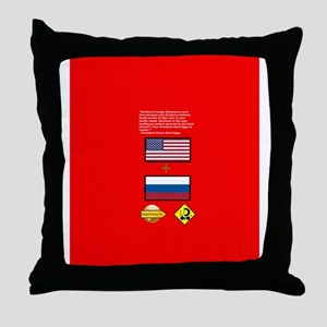 Devilcare Throw Pillow