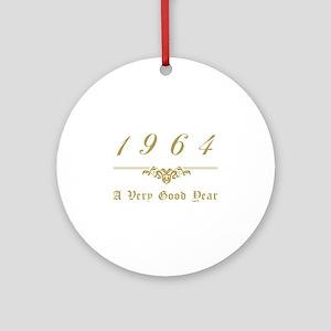 1964 Milestone Year Ornament (Round)