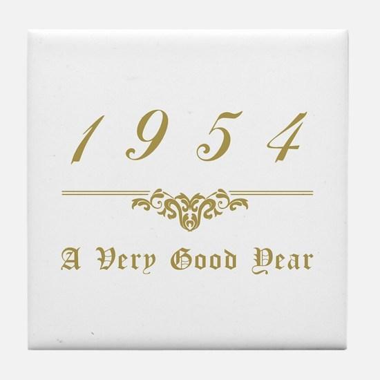1954 Milestone Year Tile Coaster