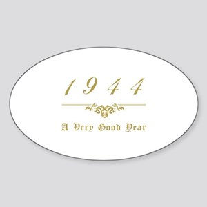 1944 Milestone Year Sticker (Oval)