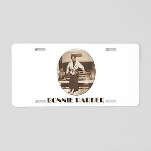 Bonnie Parker Aluminum License Plate