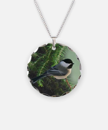 Cute Chickadee Necklace