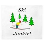 Ski Junkie King Duvet