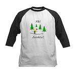 Ski Junkie Kids Baseball Jersey