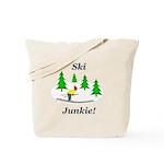 Ski Junkie Tote Bag