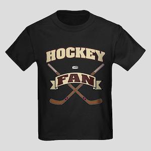 Hockey Fan Kids Dark T-Shirt