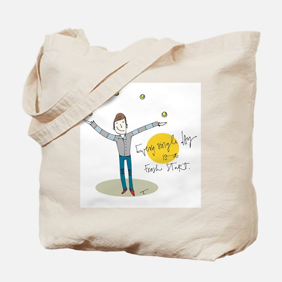 Monday is Now Tote Bag