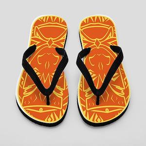 Tiki Flip Flops